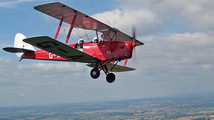 Tiger Moth Tour Of Longleat