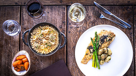 Buy Three-Course Meal with Bellini for Two at Gordon Ramsay's York and Albany