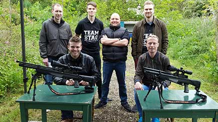 Air Rifle Shooting For Two In Leicestershire