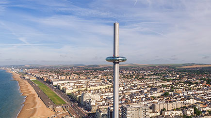 A Hilton Hotel Stay, Royal Pavilion And British Airways I360 For Two, Brighton