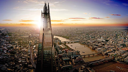 Buy The View From The Shard and Lunch for Two at Gordon Ramsay's Savoy Grill