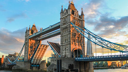 Buy Tower Bridge Exhibition and Lunch at dim t for Two