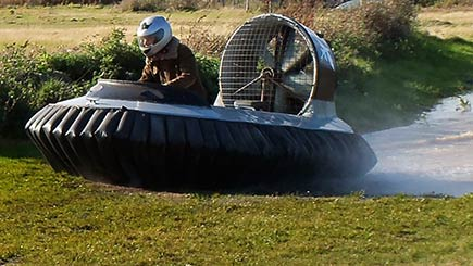 Hovercraft Racing Challenge In Kent