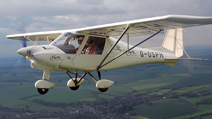 Microlight Flying In Berkshire