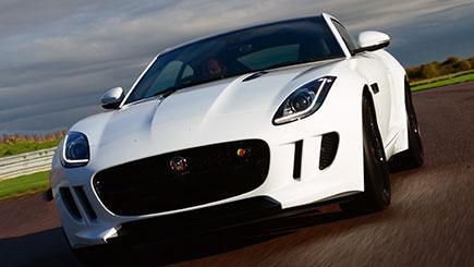 Jaguar F-Type Thrill at Thruxton