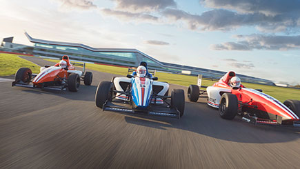 Motor Racing Thrill at Silverstone