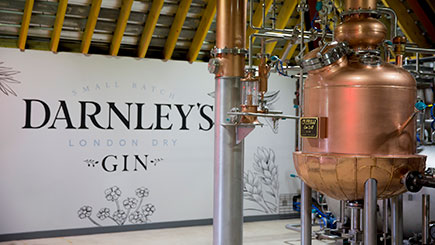 Buy Gin Distillery Tour Lunch for Two at Darnley's Gin Distillery