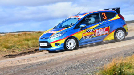 Rally Driving in Scotland