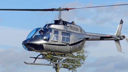15 Minute Helicopter Tour of Nottinghamshire Sporting Grounds