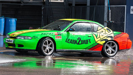 Click to view details and reviews for Half Day Drifting With Six Lap Passenger Ride.
