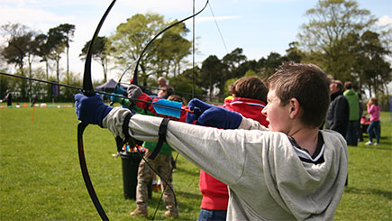 Archery For Two In Cheshire