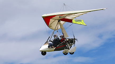 Microlight Flying In Nottinghamshire