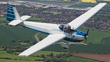 60 Minute Motor Glider Flight In Oxfordshire