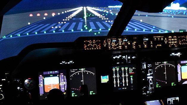 60 Minute Full Motion Simulator Flight
