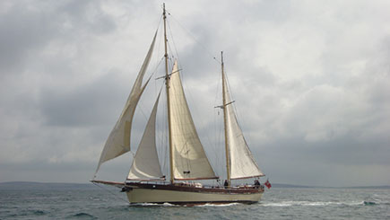 Tall Ship Sailing Day For Two In Scotland