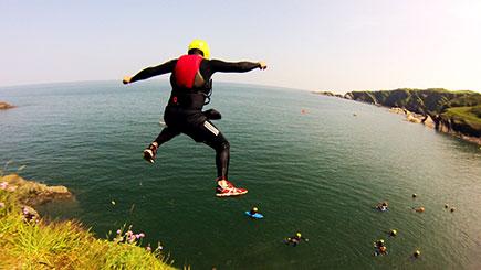 Coasteering Experience In Devon