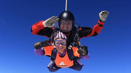 Tandem Skydiving Near Durham