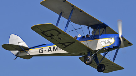 20 Minute Tiger Moth Flight In West Sussex
