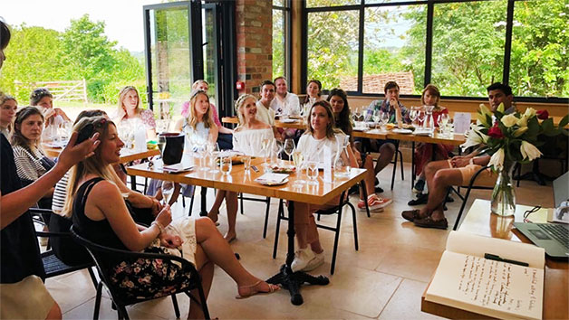 Wine Tour And Tutored Tasting At Woodchester Valley Vineyard
