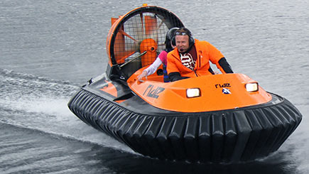 Hovercraft Thrill For Two In Bedfordshire