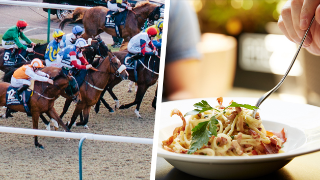 Buy Lingfield Raceday and Three Course Meal for Two at Prezzo
