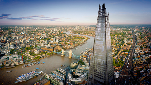 Buy Entry to The View from The Shard and Cocktails for Two