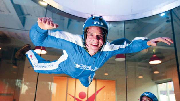 Introductory Indoor Skydiving For Two   Peak Time
