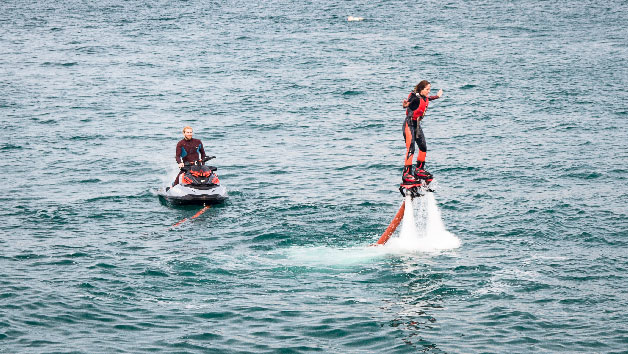 30 Minute One To One Flying Boarding Lesson For Two At Fly Newquay
