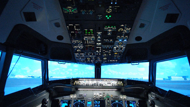 90 Minute Flight Simulator At Jet Sim School For One