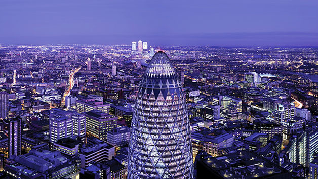 Buy Two Course Lunch for Two at Searcys at The Gherkin