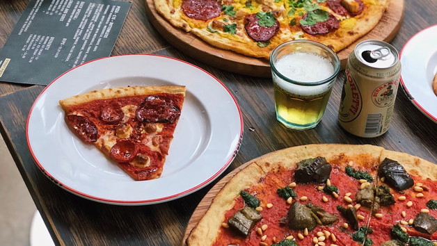 Buy Bottomless Pizza at Gordon Ramsay's Street Pizza for Two in London