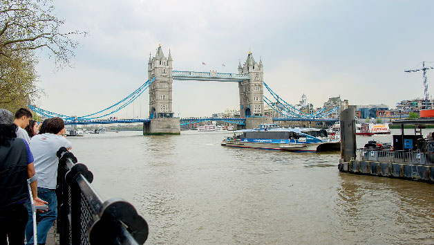 Buy Vintage Bus Tour, Thames Cruise and London Eye for Two