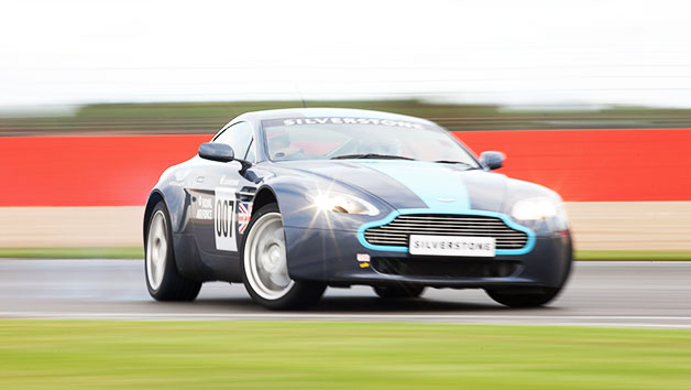 Aston Martin Thrill At Silverstone