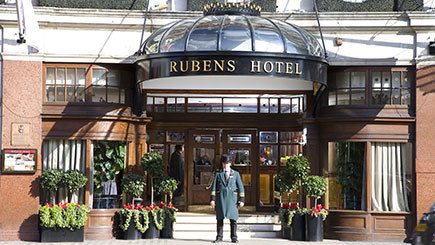 Three Course Lunch With Champagne For Two At The Rubens