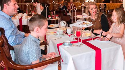 Family Royal Afternoon Tea At The Rubens