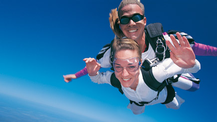 Tandem Skydiving With DVD