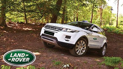 30 Minute Junior Off Road Range Rover Driving