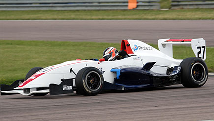 Single Seater Driving Thrill In Oxfordshire
