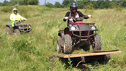 Quad Bike Safari For Two In Middlesex