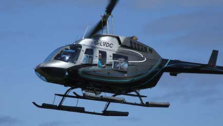 12 Mile Helicopter Pleasure Flight For Two  In Manchester