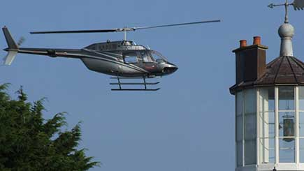 12 Mile Helicopter Pleasure Flight for Two in Cornwall
