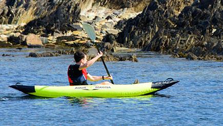 Kayaking With Seals In Oban, Scotland
