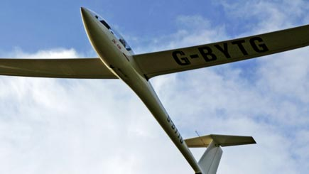 Gliding Flight In Oxfordshire