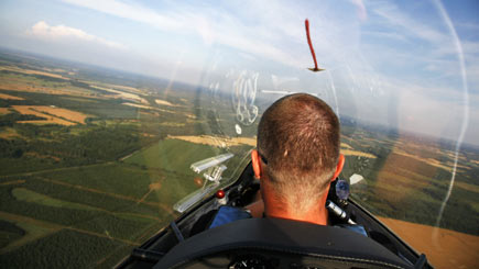 Gliding Flight In Lincolnshire