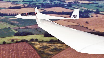 Gliding Flight In Buckinghamshire
