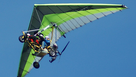 Microlight Flying In Lincolnshire