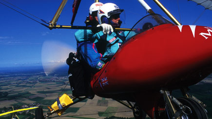 Extended Microlight Flying
