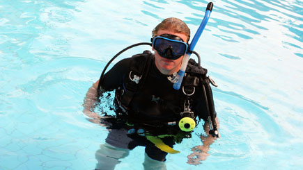 Scuba Diving For Two In Slough