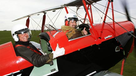 30 Minute Tiger Moth Biplane Flight