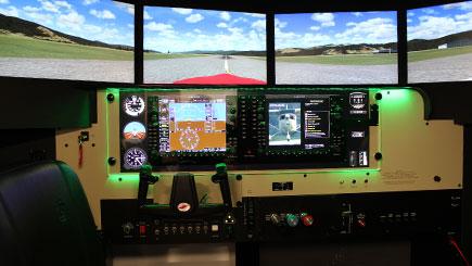 15 Minute Motion Cessna Simulator Flight in Bristol